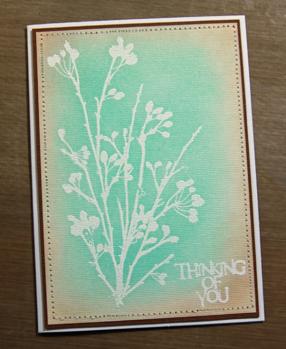 8 thinking of you card